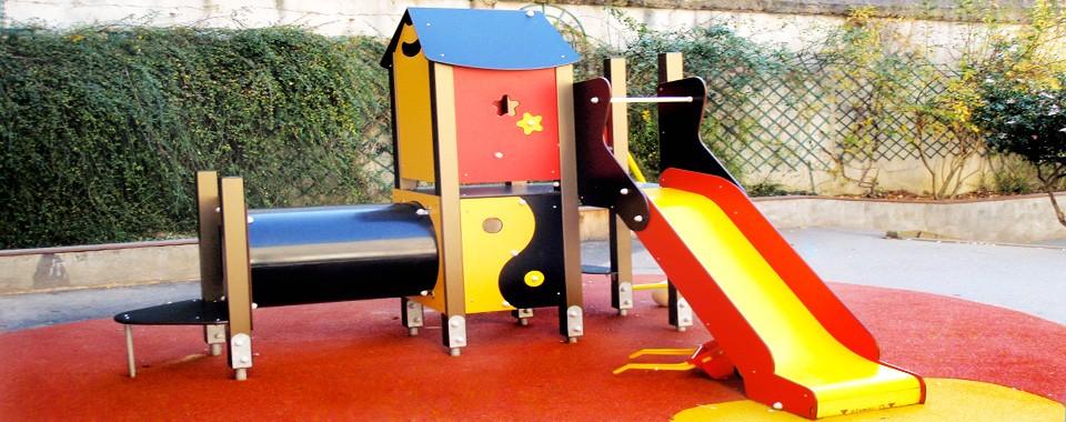Cour des maternelle Saint-Yves – Espace de Jeux