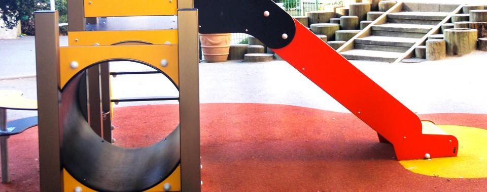 Cour des maternelle Saint-Yves – Espace jeux