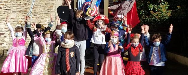carnaval de la mi-Carême chez les CP!