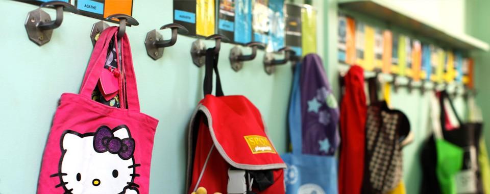 Couloir de la maternelle
