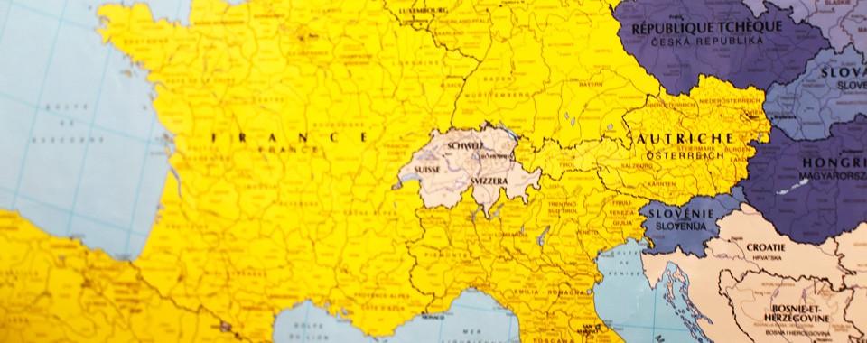 Ecole primaire Saint-Yves – Carte de l'Europe