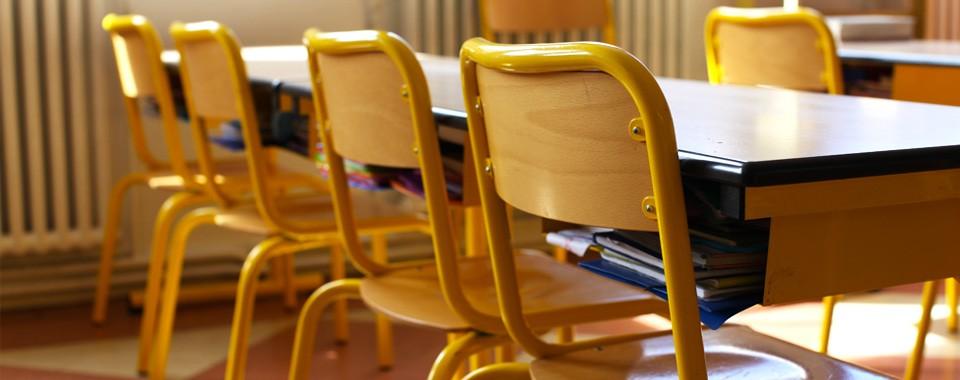 Classe de primaire – Ecole Saint-yves